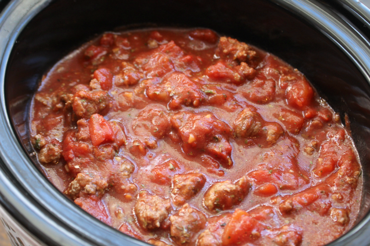 Crockpot Spaghetti Sauce - Family Fresh Meals