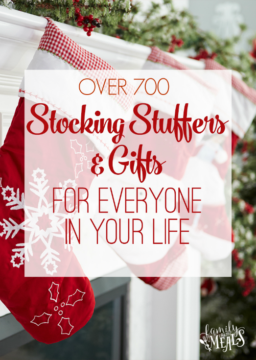 Stocking Stuffers Gift Ideas - FamilyFreshMeals.com