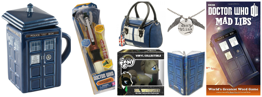 Stocking Stuffer Gift Ideas For Everyone - dr. who fans