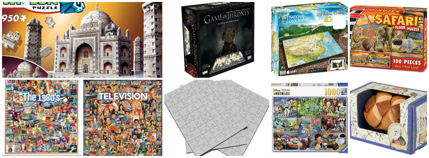 Stocking Stuffer Gift Ideas For Everyone - puzzles galore