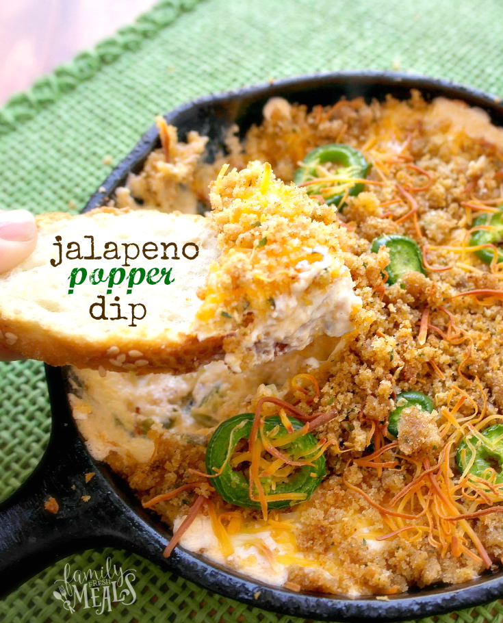 Easy Jalapeno Popper Dip - Family Fresh Meals