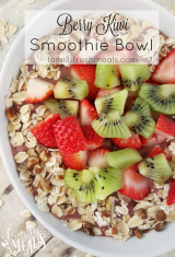 Very Berry Kiwi Smoothie Bowl