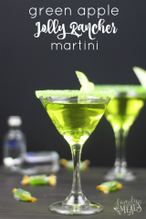 Green Apple Jolly Rancher Martini