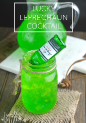 Lucky Leprechaun Cocktail
