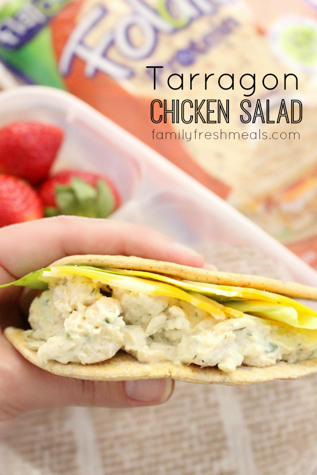 Tarragon Chicken Salad + Gift Card Giveaway! - Family ...
