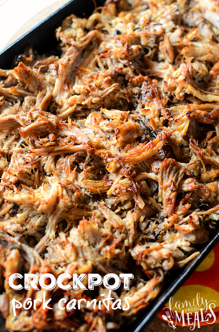 CROCKPOT PORK CARNITAS - Family Fresh Meals
