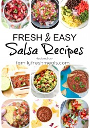 EASY HOMEMADE SALSA RECIPES