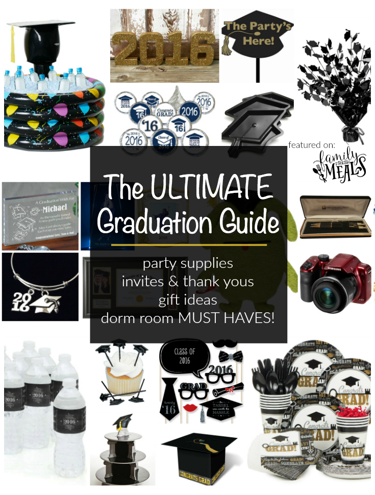 EVERYTHING YOU NEED FOR GRADUATION