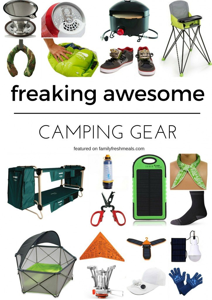 freaking awesome camping gear family fresh meals