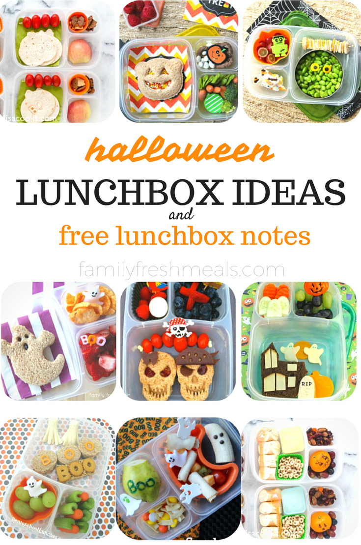 Halloween Lunchboc Ideas And Free