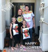 Happy Halloween Sushi Costumes