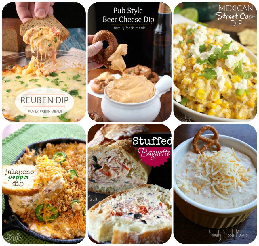 Perfect New Years Appetizers - familyfreshmeals.com