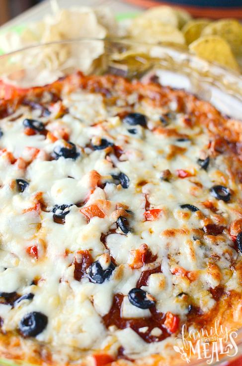 Easy Pizza Dip Recipe - familyfreshmeals.com