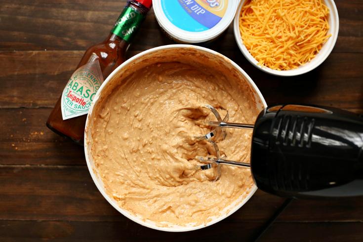 Cheesy Bean Dip - Step 2