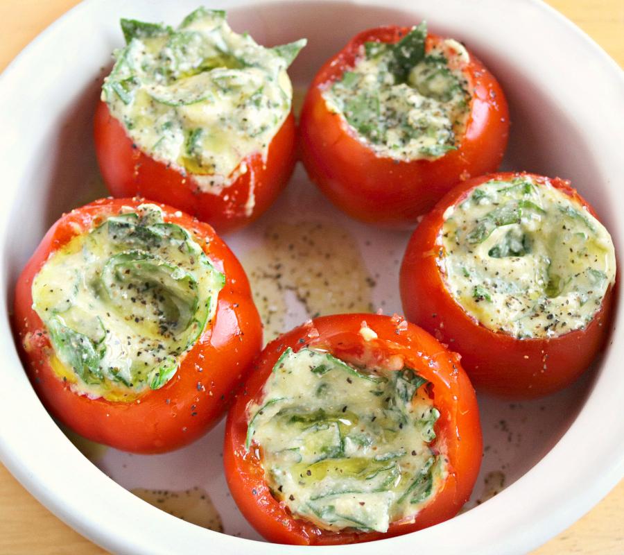 Stuffed Tomato Bites - Familyfreshmeals.com - Step 3
