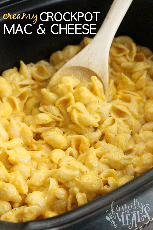 The Best Creamy Crockpot Mac and Cheese - FamilyFreshMeals.com Family ...