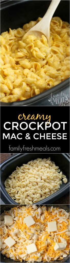 The Best Creamy Crockpot Mac and Cheese - Family Fresh Meals