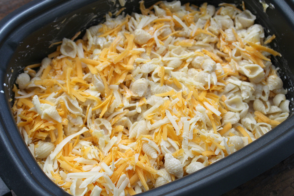 The Best Creamy Crockpot Mac and Cheese - Step 3