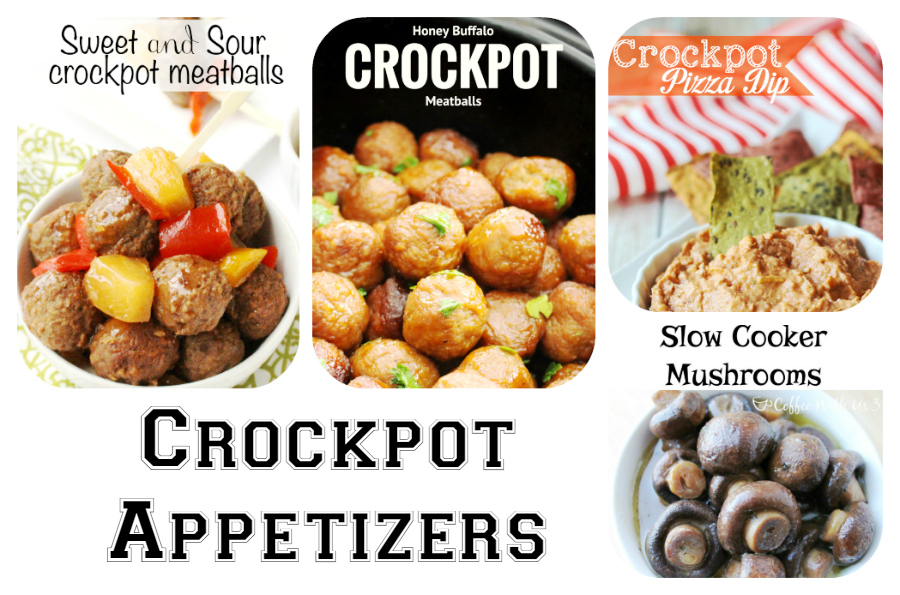 60 Game Day Super Bowl Appetizers - Crockpot Appetizers