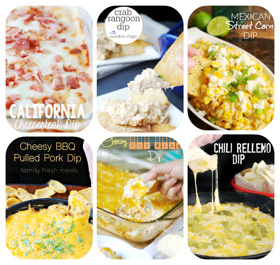 60 Game Day Super Bowl Appetizers - Dips