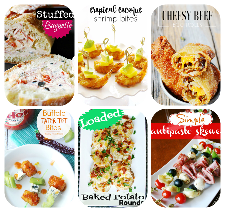 60 Game Day Super Bowl Appetizers - Finger Foods