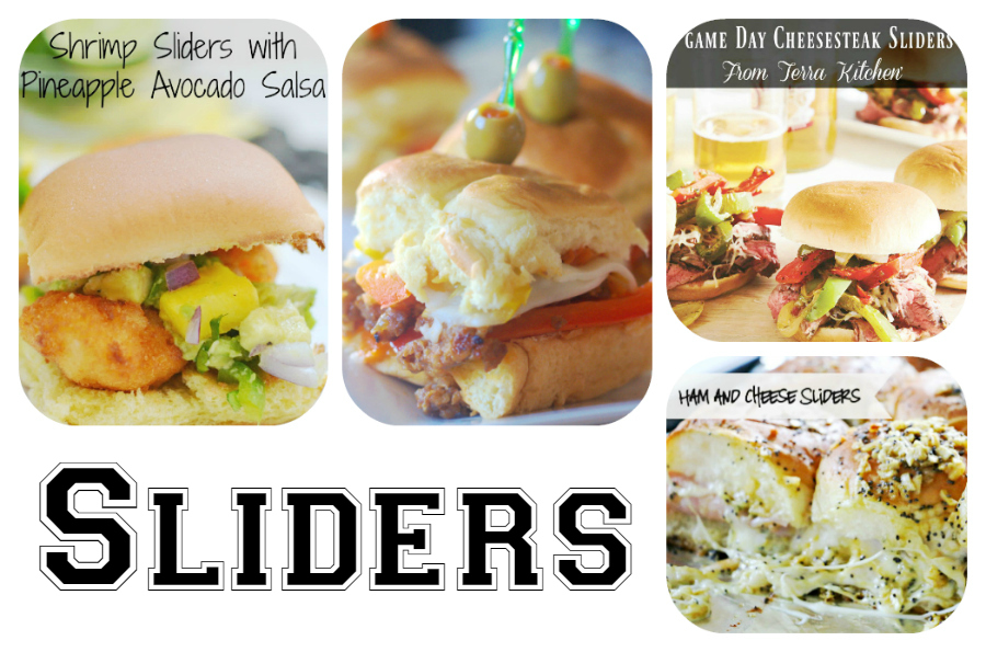 60 Game Day Super Bowl Appetizers - Sliders