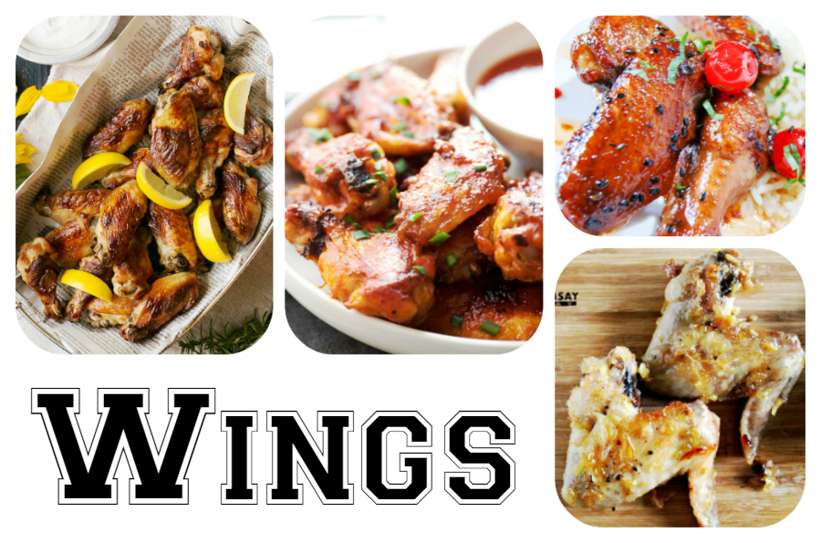 60 Game Day Super Bowl Appetizers - Wings