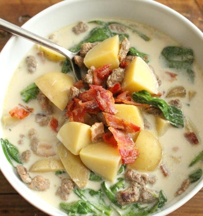 Crockpot Zuppa Toscana Soup Recipe - FamilyFreshMeals.com