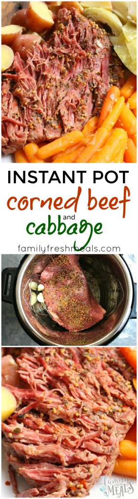 Instant Pot Corned Beef and Cabbage - Yummy Recipe - FamilyFreshMeals.com