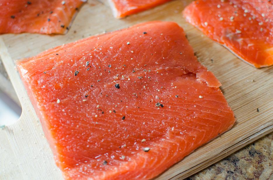 Salmon Sheet Pan Dinner - FamilyFreshMeals.com - Step 1