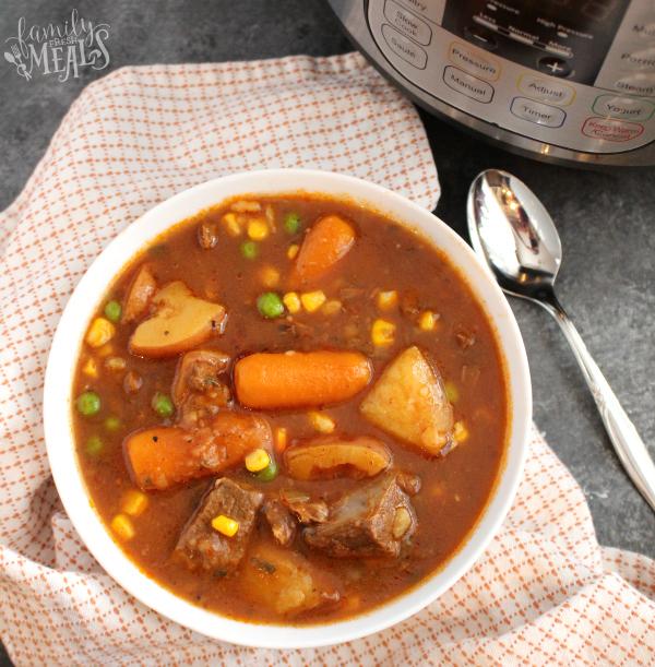 The Best Instant Pot Beef Stew Recipe.