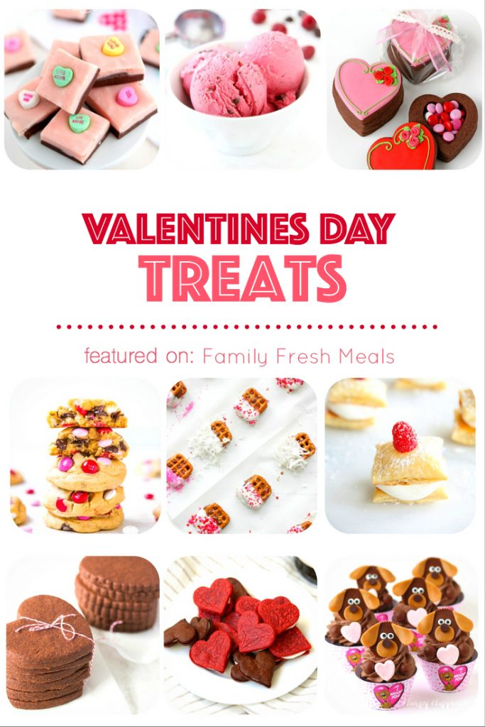 Valentines Day Treats - FamilyFreshMeals.com