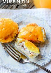 Easy Muffin Tin Breakfast Bundles