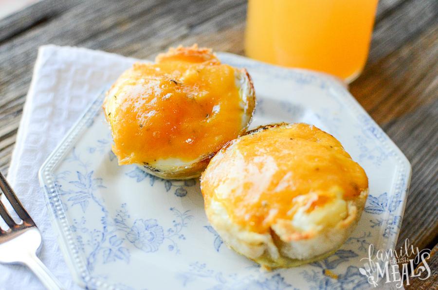 Easy Muffin Tin Breakfast Bundles Recipe