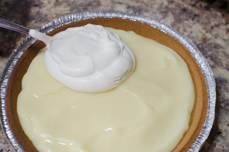 Grandma's Banana Cream Pie - Step 4