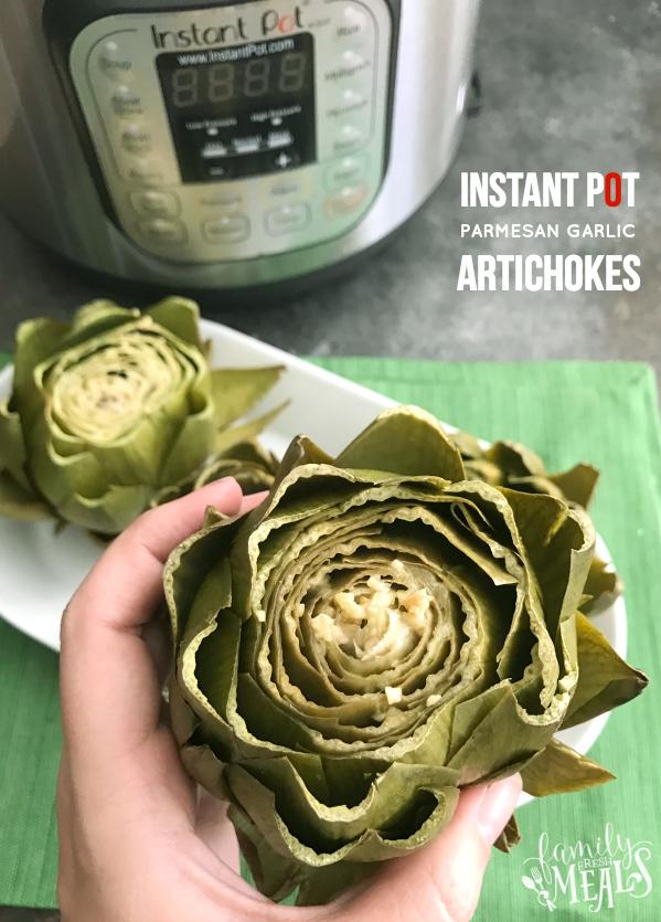 Instant Pot Parmesan Garlic Artichokes - Family Fresh Meals Recipe