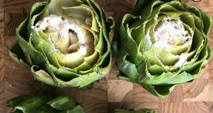 Instant Pot Parmesan Garlic Artichokes - Family Fresh Meals Recipe- Step 3