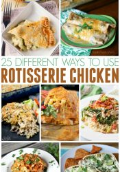 Different Ways to Use Rotisserie Chicken