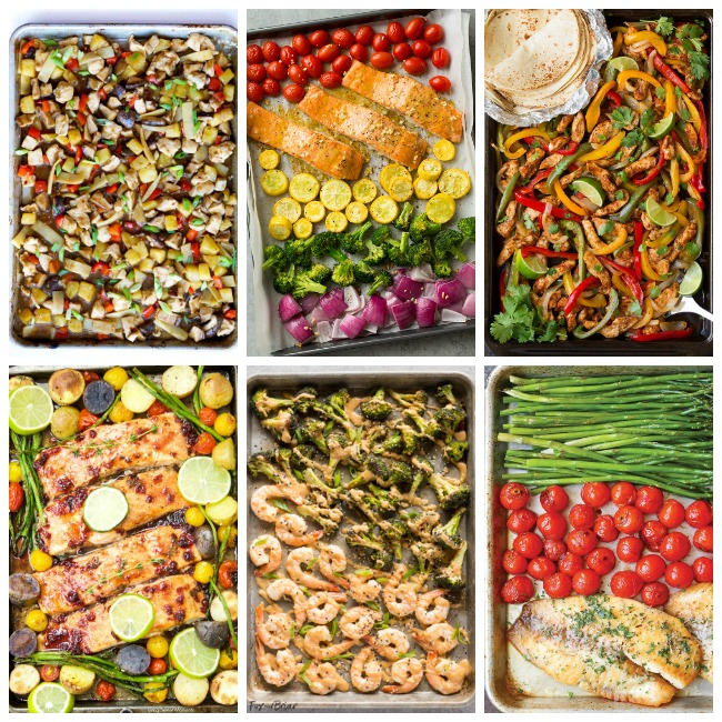 Easy Sheet Pan Dinners - Family Fresh Meals