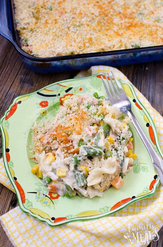 Chicken Noodle Casserole - Family Fresh Meals