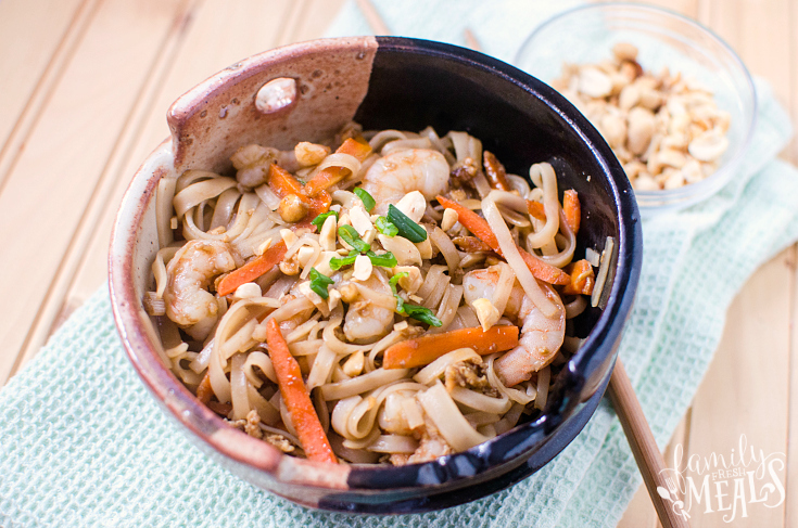 Easy Shrimp Pad Thai - Step 7