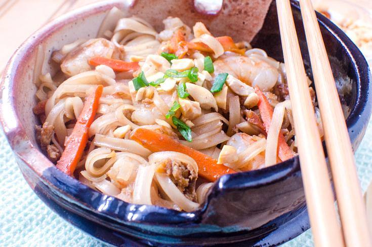 Easy Shrimp Pad Thai - Step 8