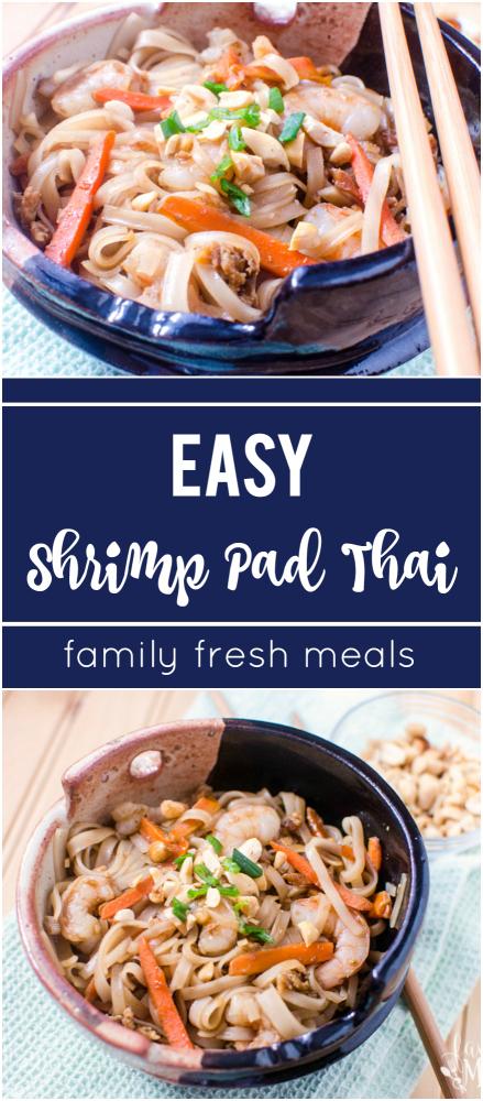 Easy Shrimp Pad Thai - Super Yummy Recipe